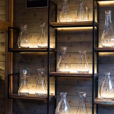 Simon Pearce Master Glass Wall